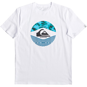 Quiksilver Stomped On T-shirt Homme, white
